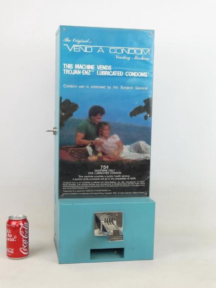 Vintage Condom Machine