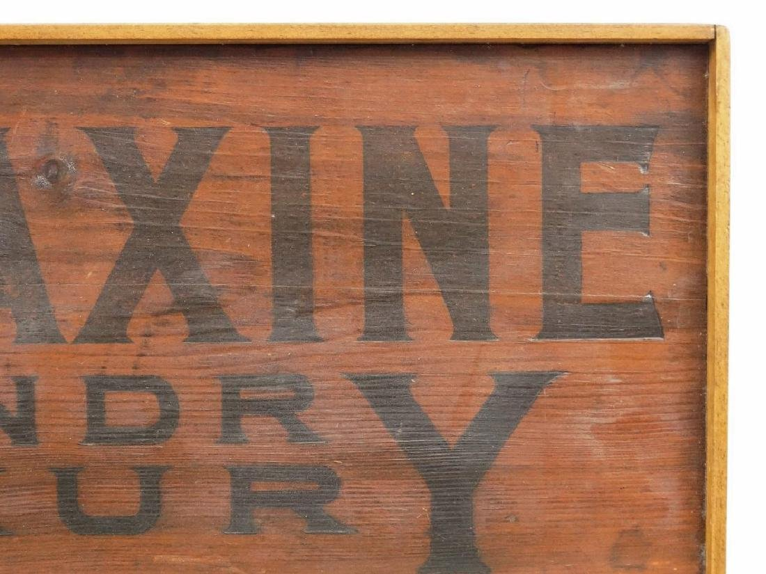 Wooden Sign - 2