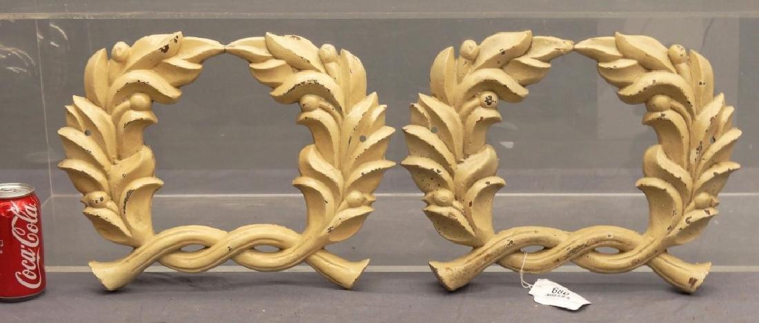 Cast Iron Wreaths