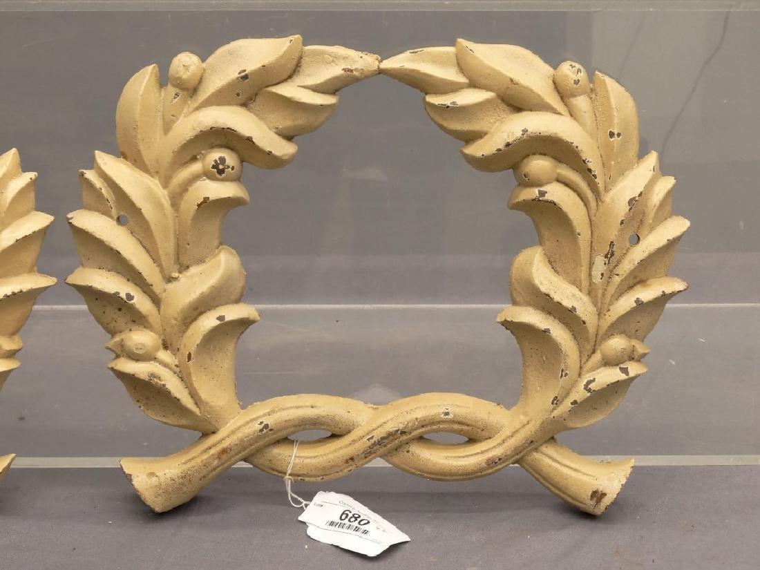 Cast Iron Wreaths - 2