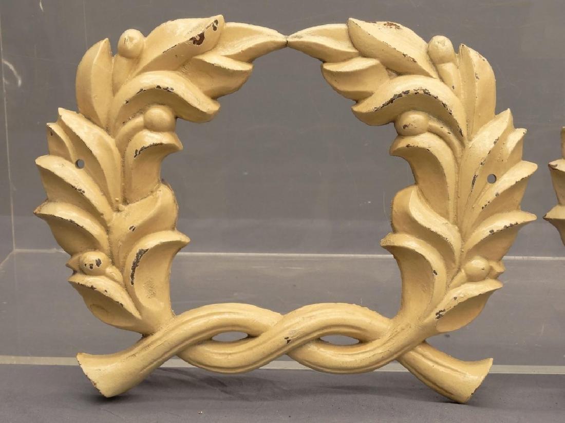 Cast Iron Wreaths - 3