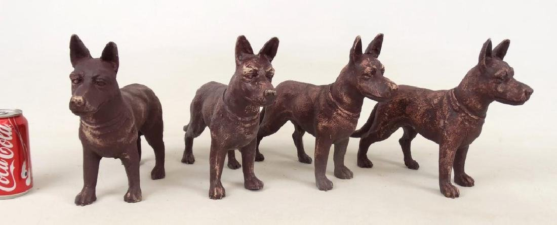 Cast Iron Dog Doorstops