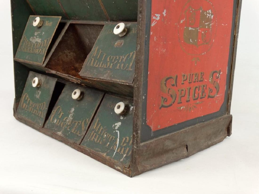 19th c. Spice Cabinet - 10