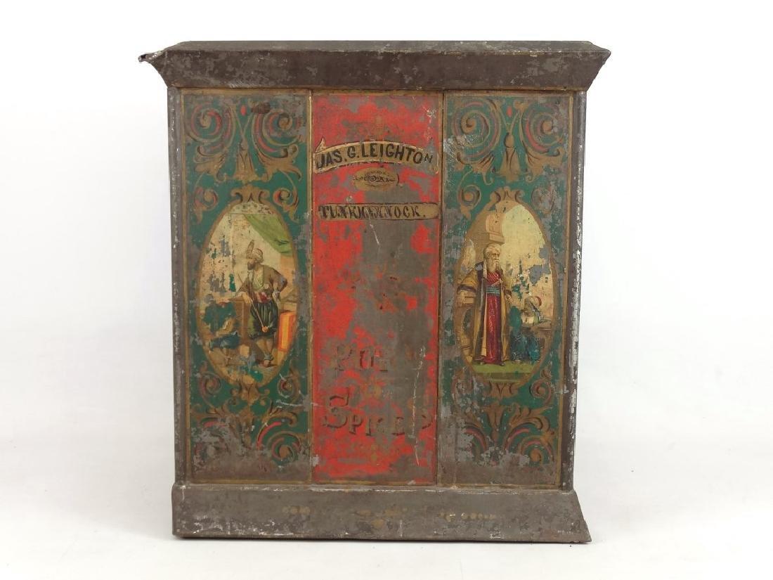 19th c. Spice Cabinet - 11