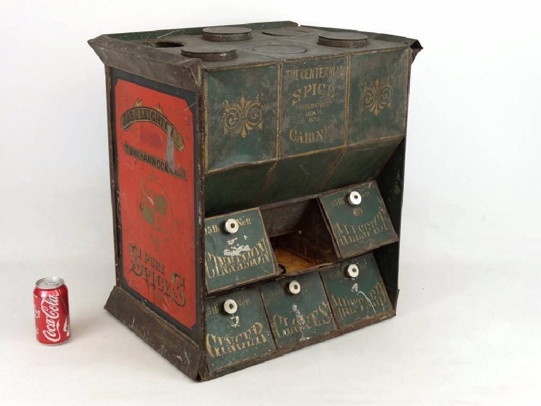 19th c. Spice Cabinet