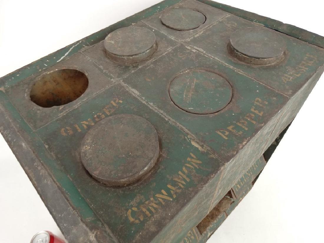 19th c. Spice Cabinet - 2