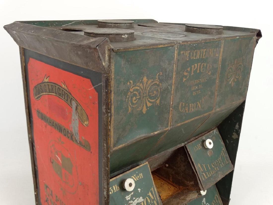 19th c. Spice Cabinet - 3
