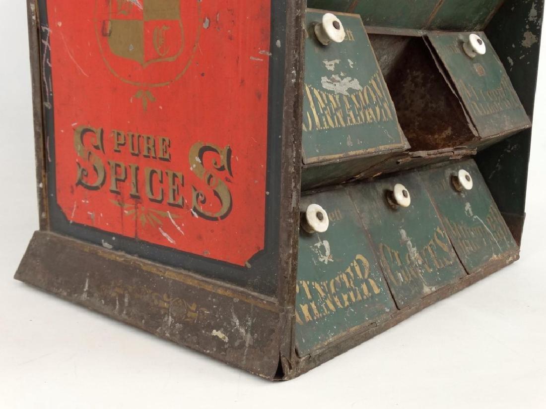 19th c. Spice Cabinet - 6