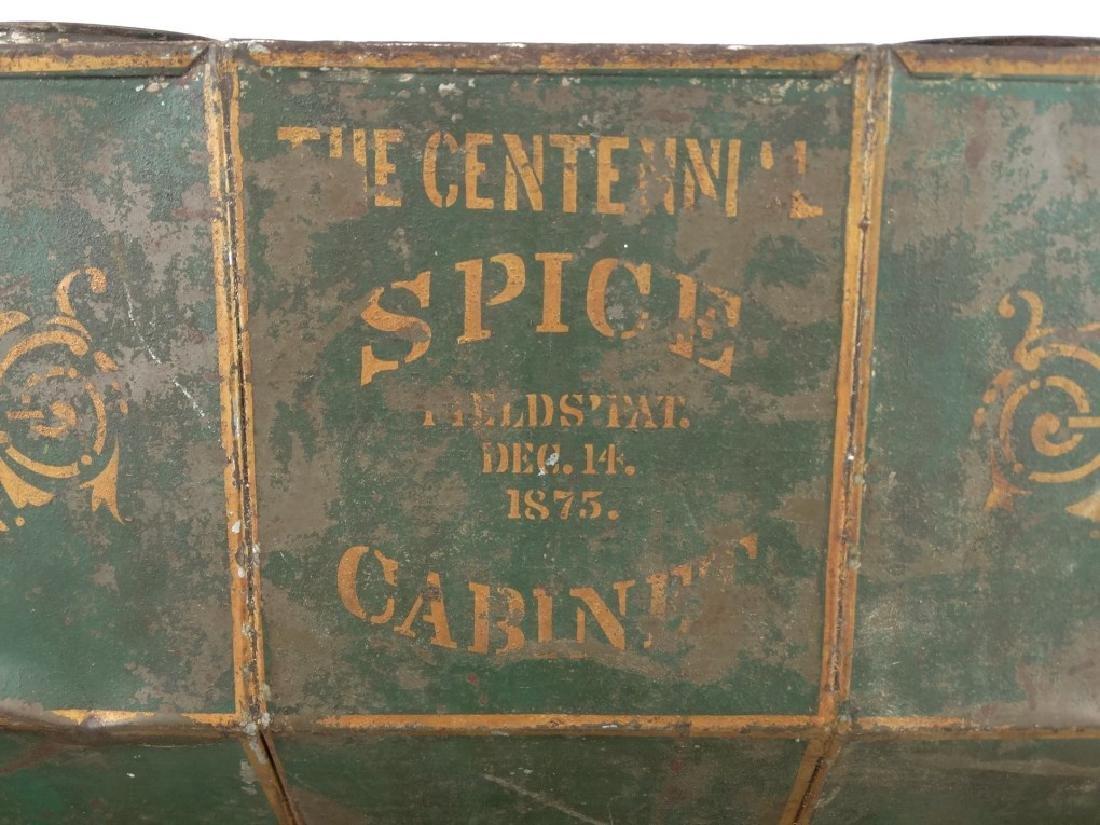 19th c. Spice Cabinet - 8