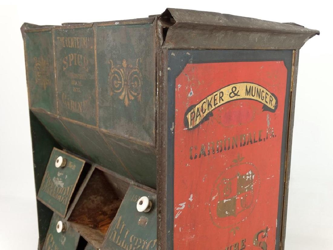 19th c. Spice Cabinet - 9