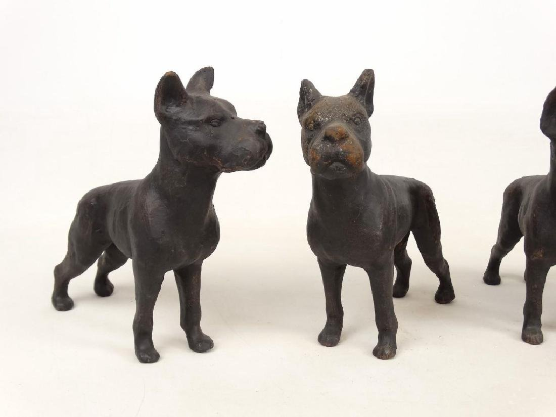 Cast Iron Dog Doostops - 2