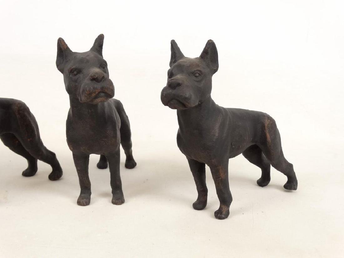 Cast Iron Dog Doostops - 3