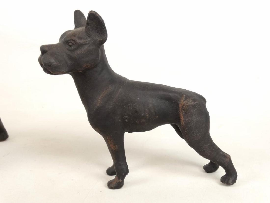 Cast Iron Dog Doostops - 4