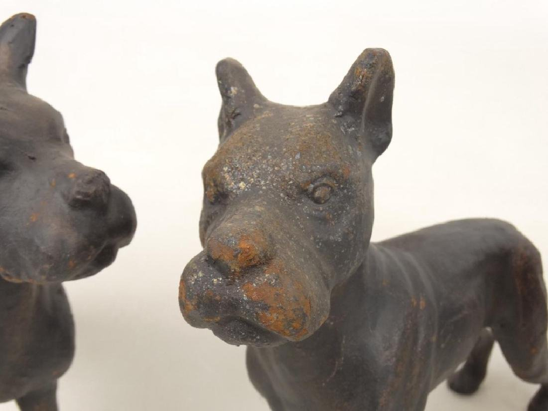 Cast Iron Dog Doostops - 7