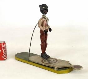 Folk Art Minstrel Toy