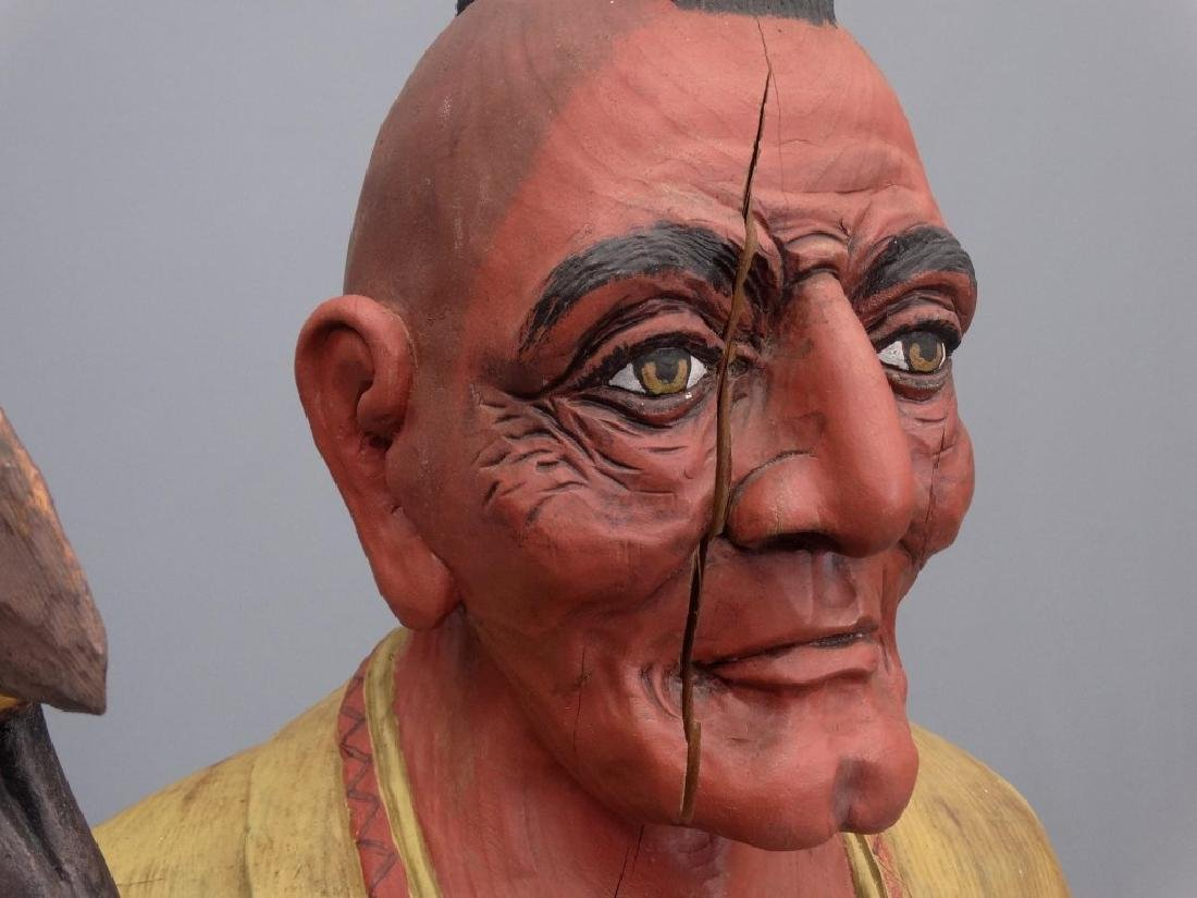 Cigar Store Figure - 7
