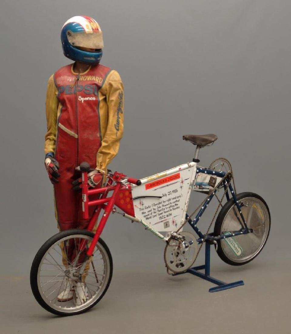 John Howard Land Speed Bicycle