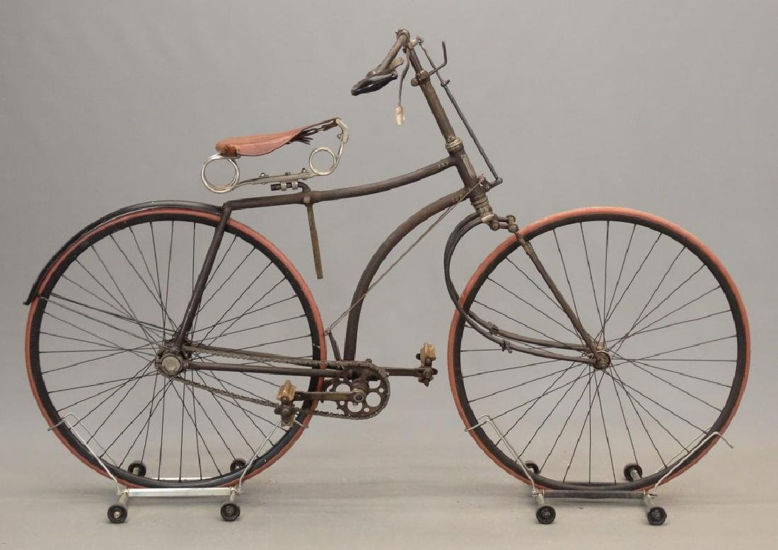 C. 1890's Victor Spring Fork Hard Tire Safety