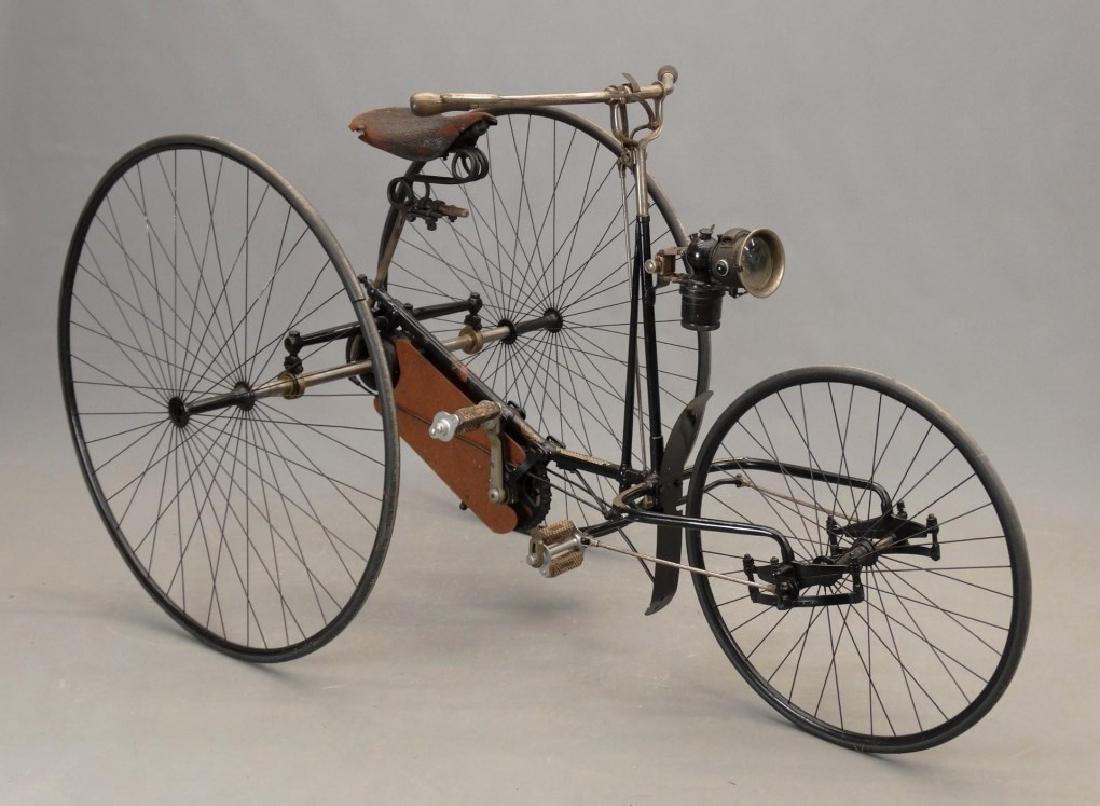 """C. 1890's """"The Quadrant Tricycle"""""""