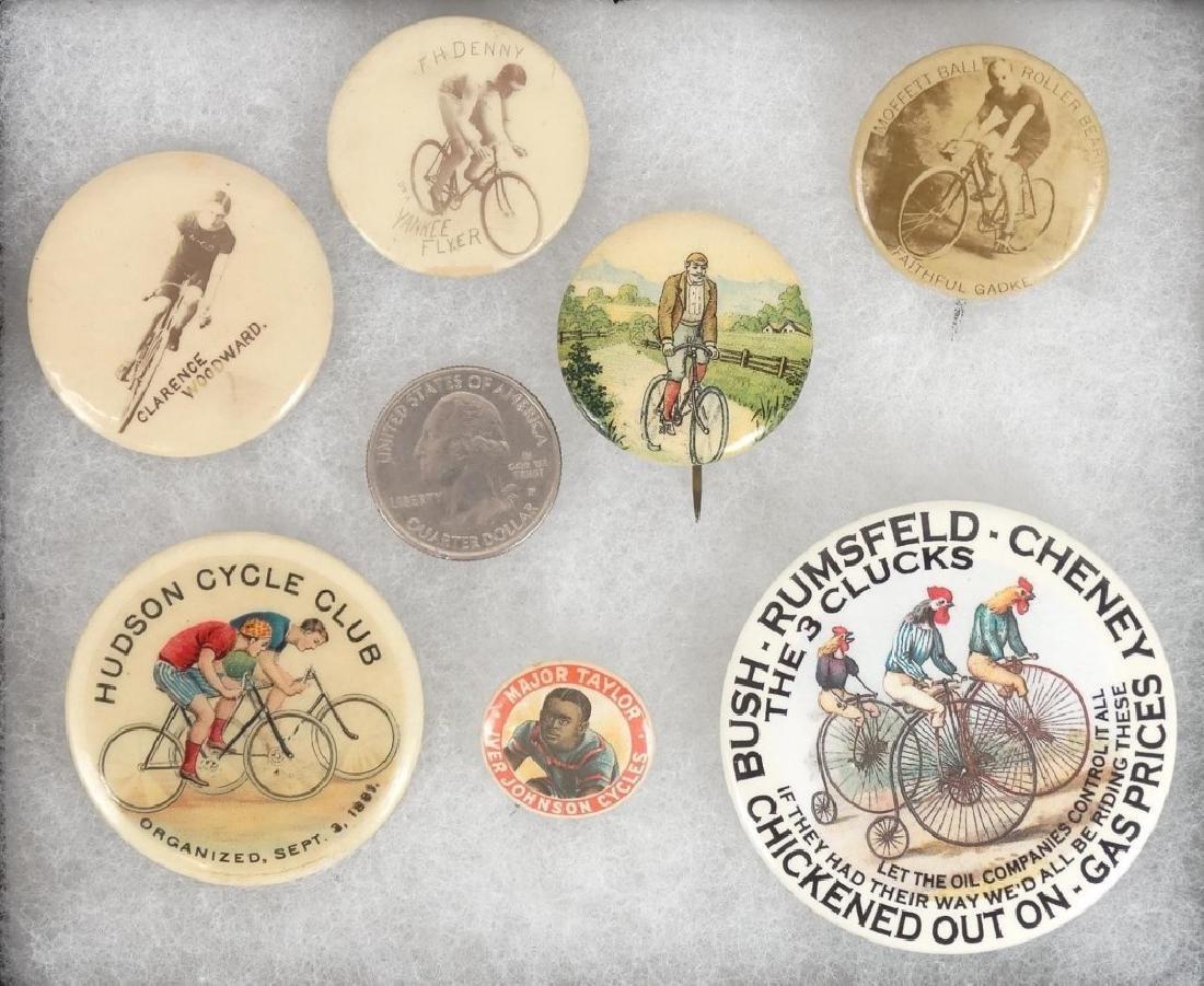Bicycle Pinbacks