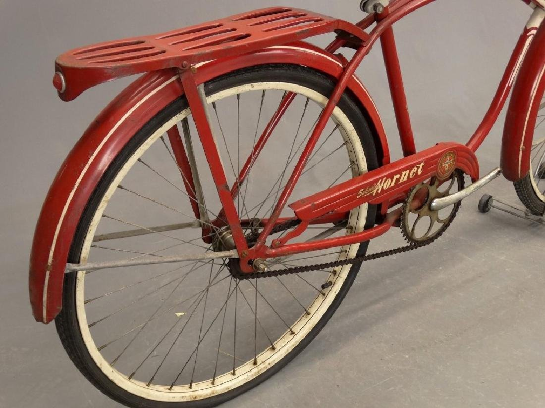 "C. 1953 Schwinn Hornet 26"" Tank Bicycle - 8"