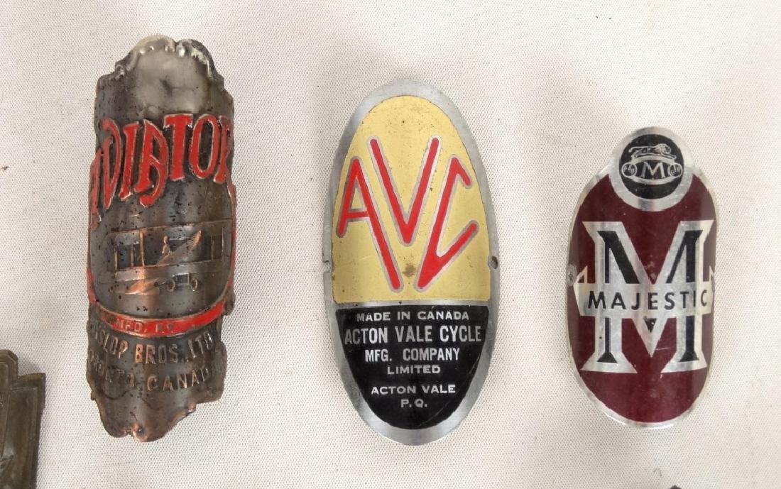 Bicycle Head Badges - 2