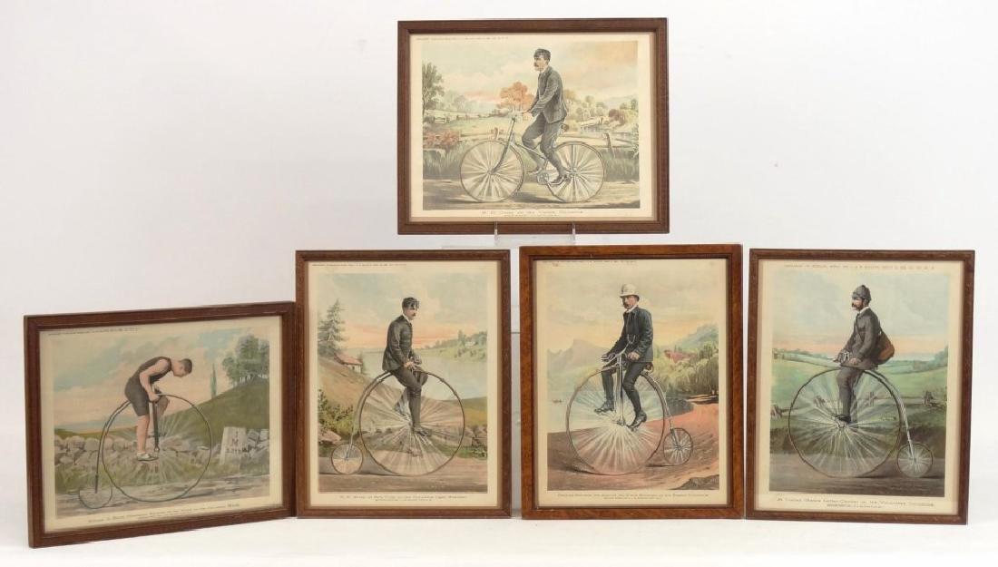 Bicycling World Prints