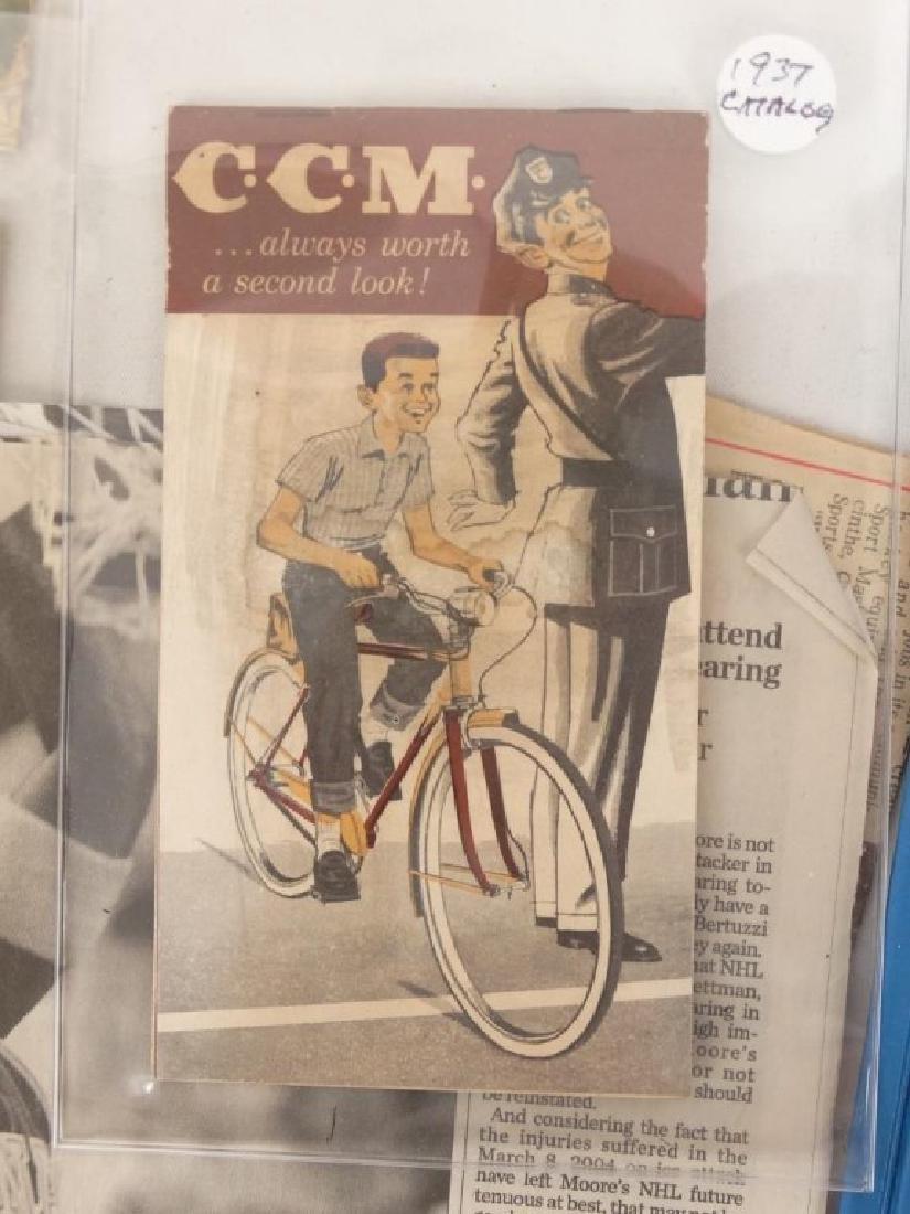 C. C. M. Ephemera Lot - 7