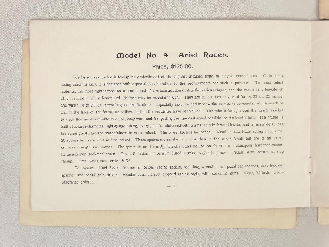 Ariel Cycles Catalogs - 8