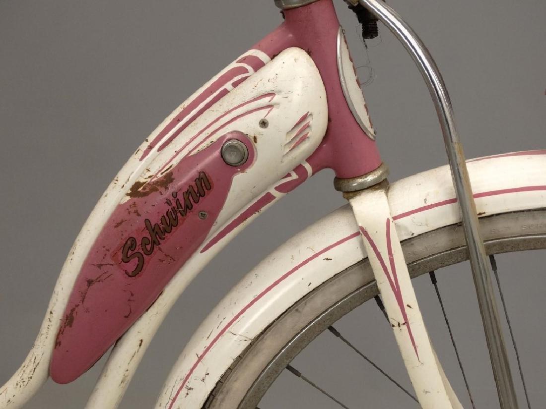 """1955 Schwinn Starlet 26"""" Ladies Tank Bicycle - 6"""