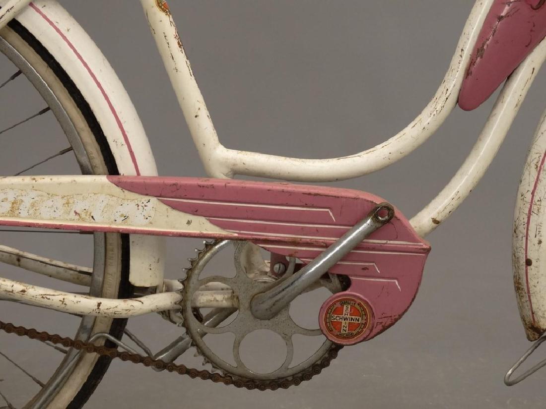 """1955 Schwinn Starlet 26"""" Ladies Tank Bicycle - 7"""