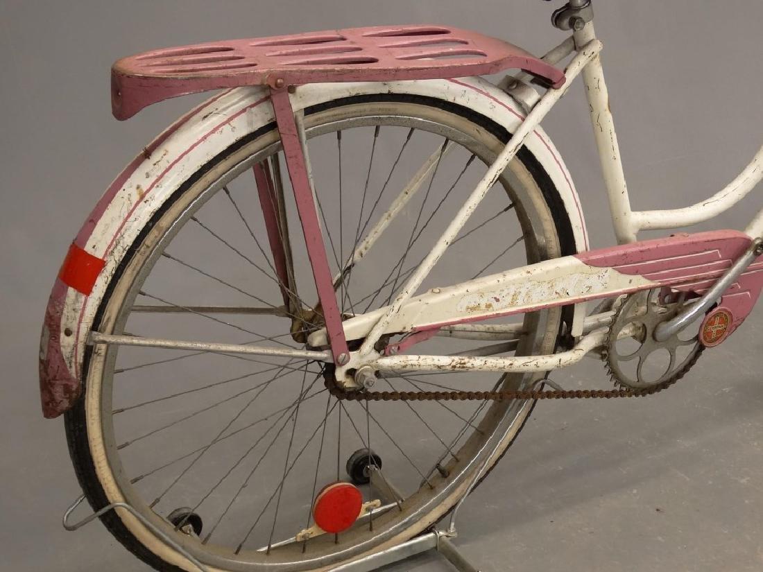 """1955 Schwinn Starlet 26"""" Ladies Tank Bicycle - 8"""