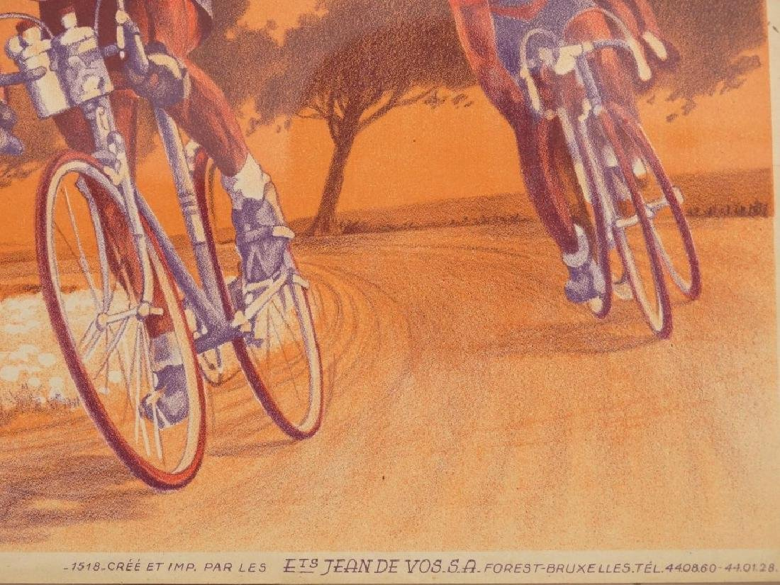 1944 Bicycle Racing Lithograph - 4