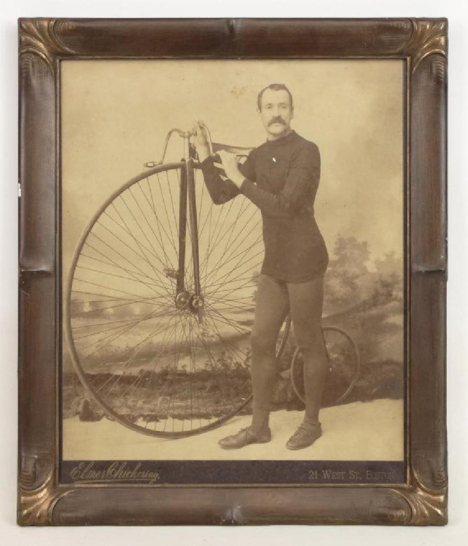 Large High Wheel Photograph