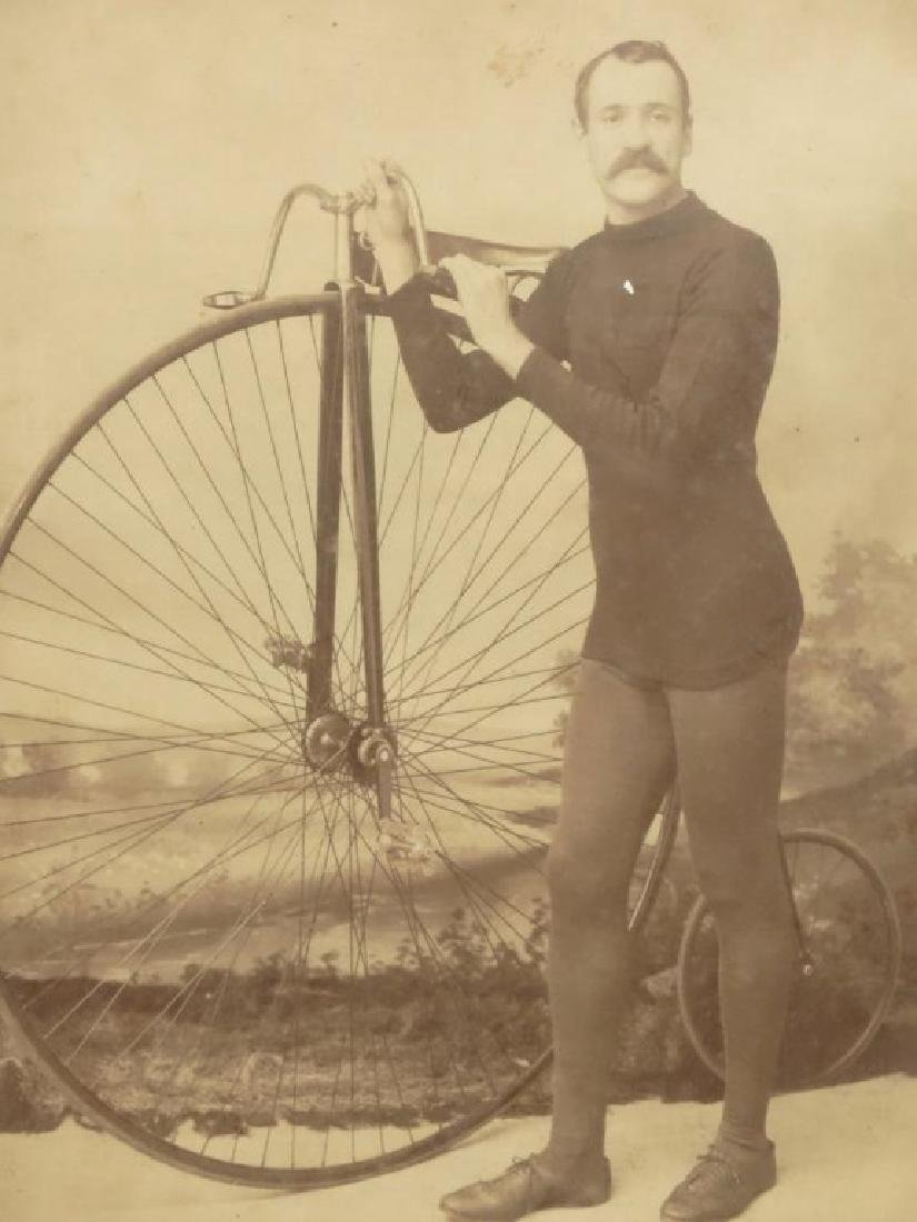 Large High Wheel Photograph - 3