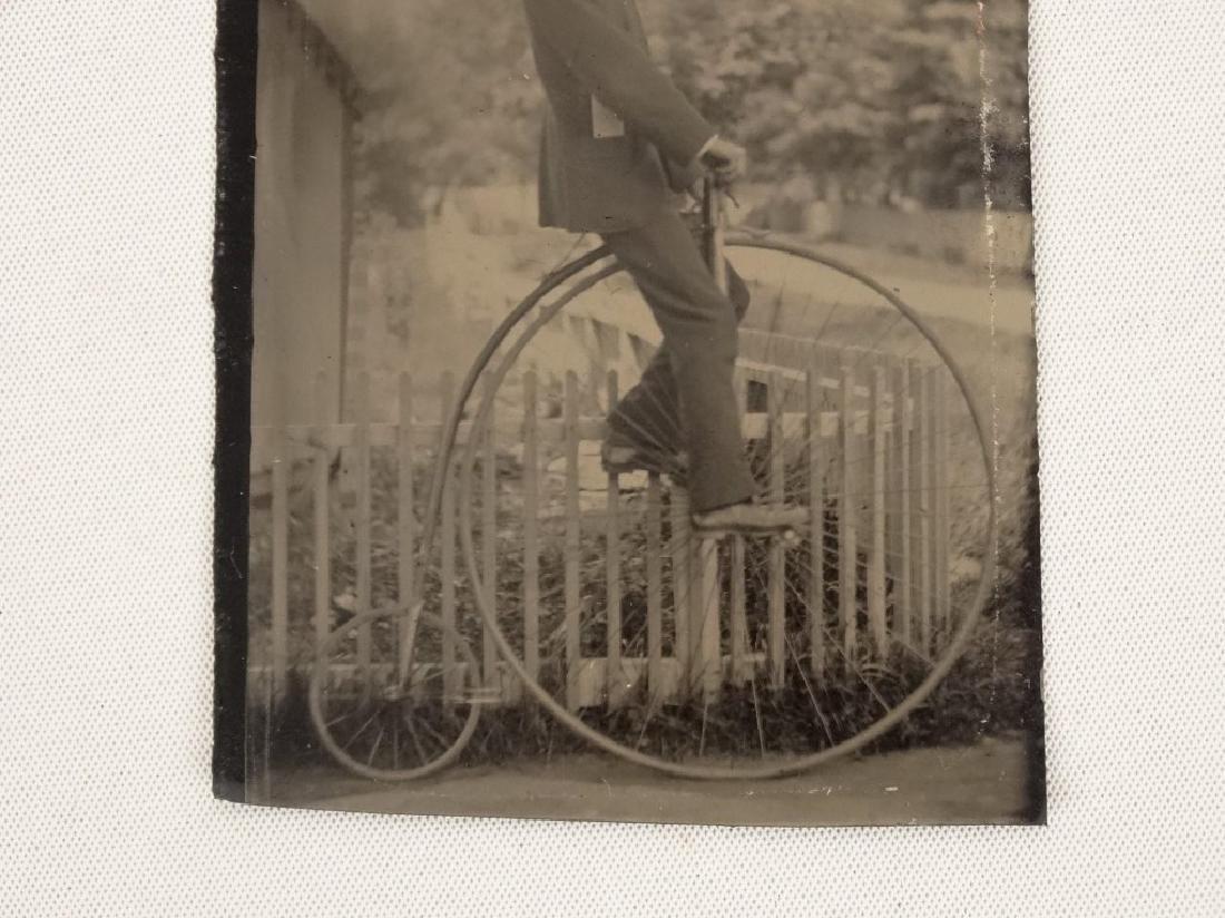 Tintype With High Wheel Rider - 2