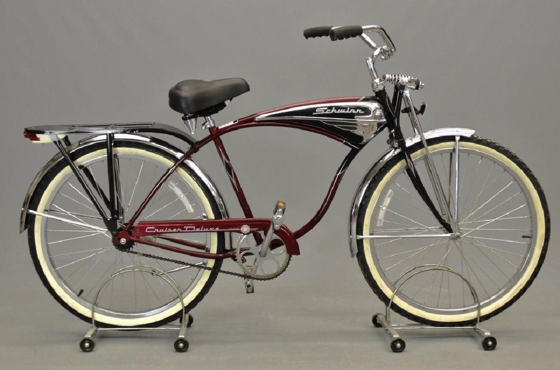 Schwinn Cruiser Deluxe Balloon Tire Bicycle