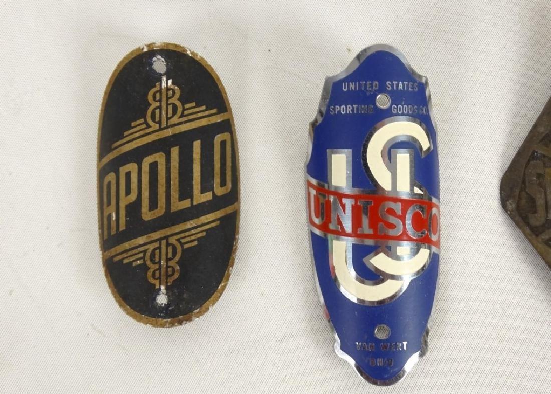 Bicycle Head Badges - 5