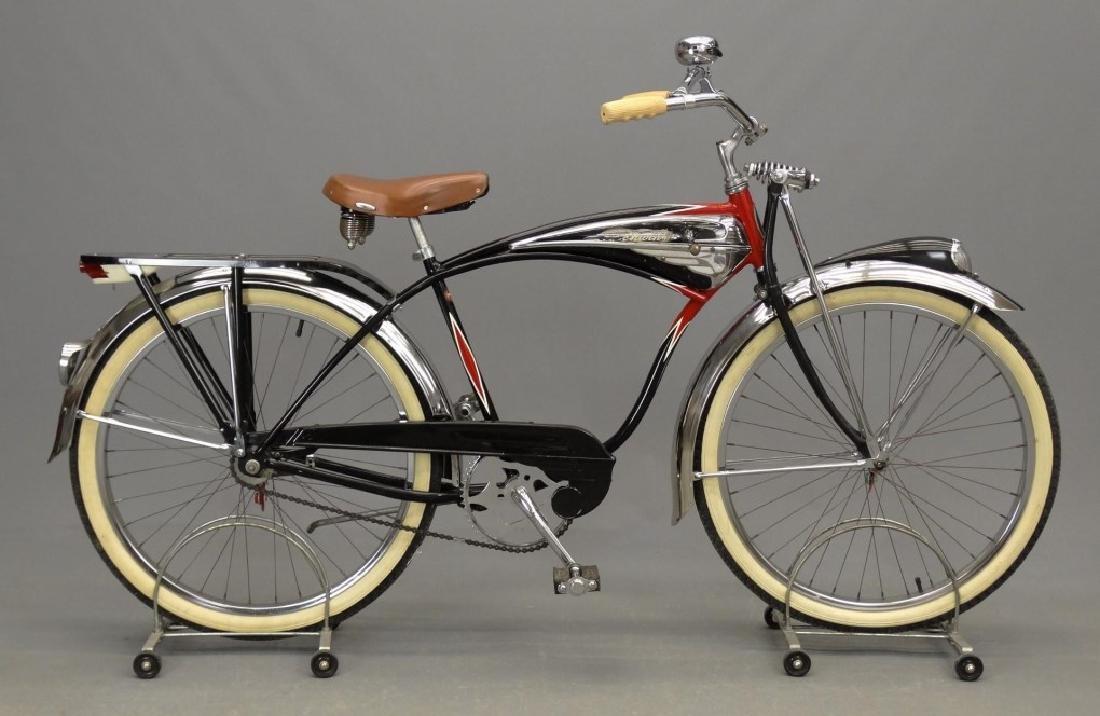 C. 1950's Schwinn Black Phantom Bicycle