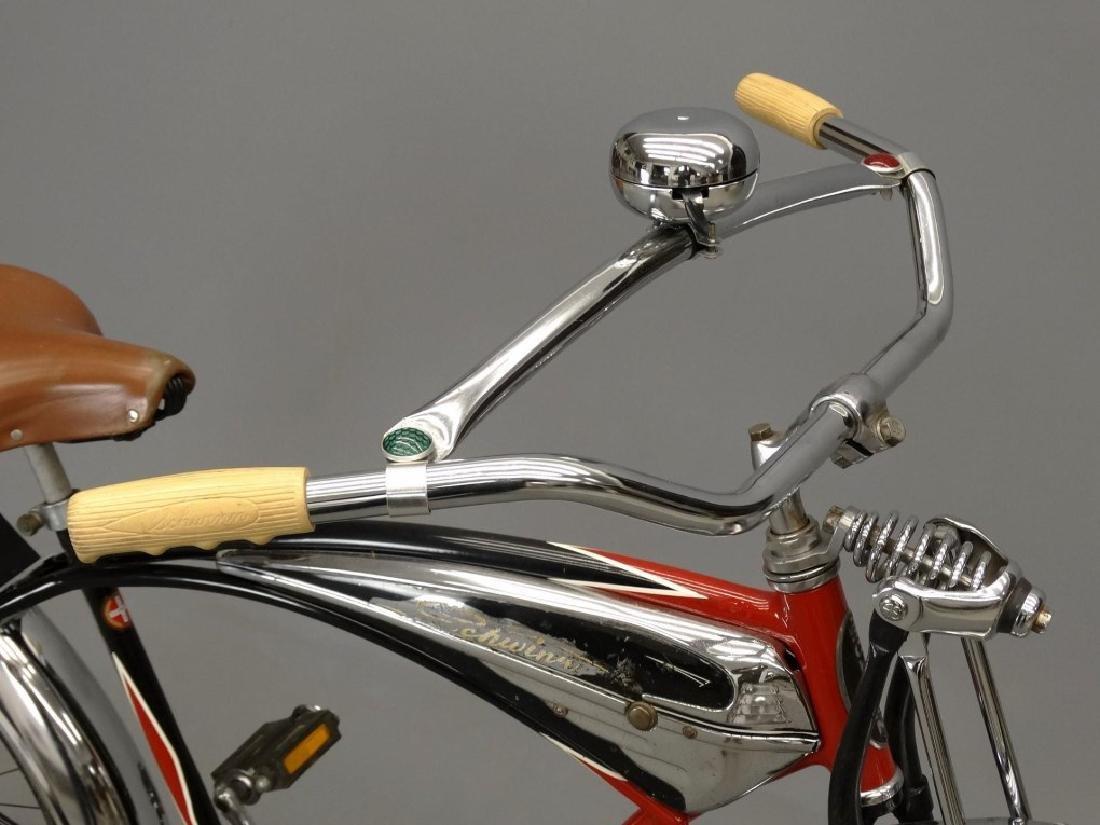 C. 1950's Schwinn Black Phantom Bicycle - 2