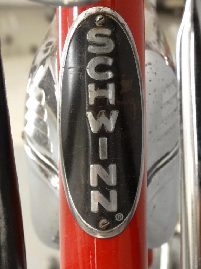 C. 1950's Schwinn Black Phantom Bicycle - 4
