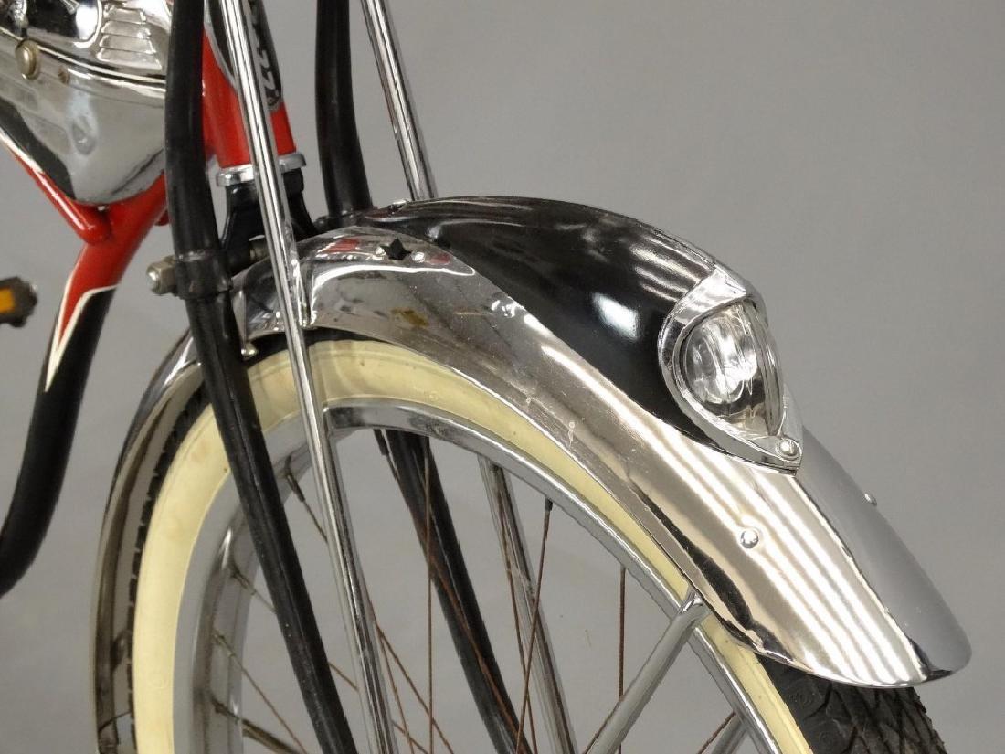 C. 1950's Schwinn Black Phantom Bicycle - 5