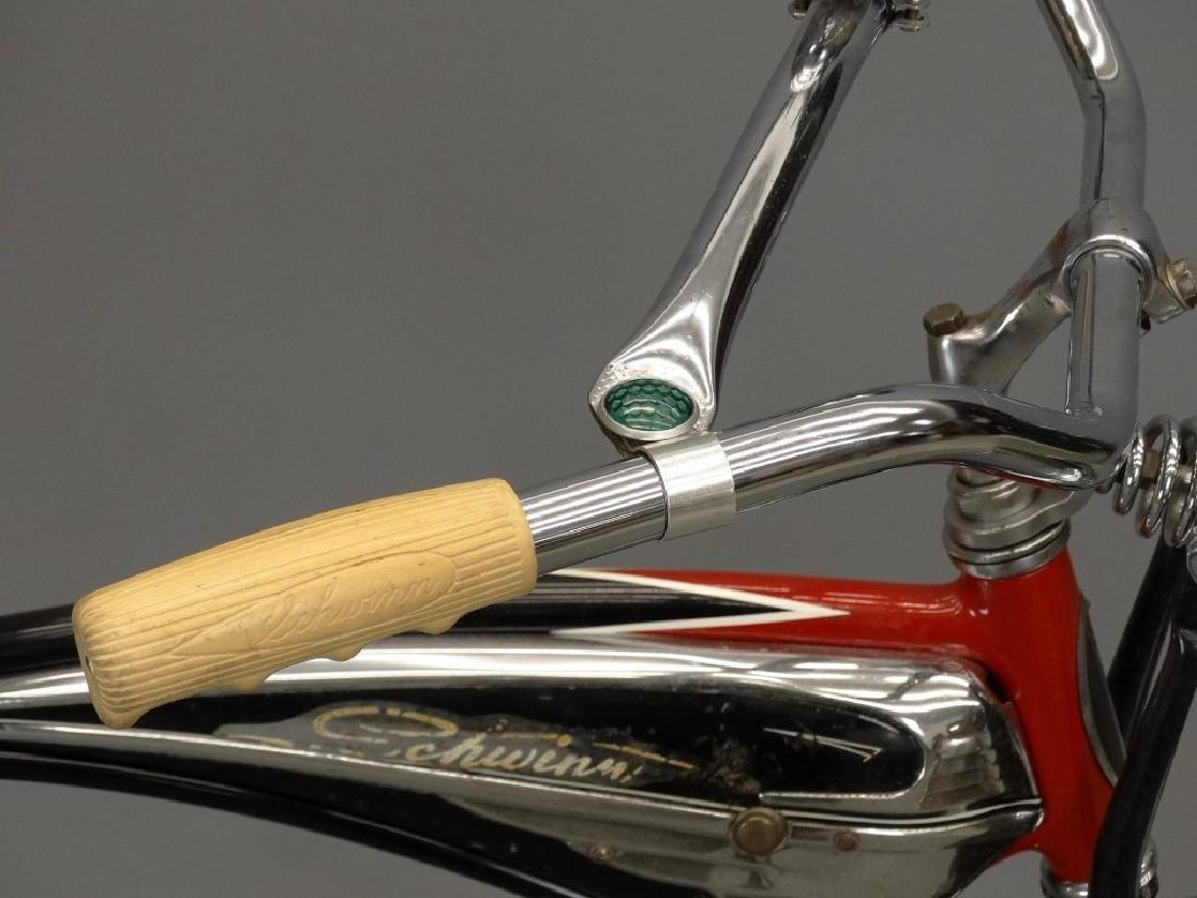 C. 1950's Schwinn Black Phantom Bicycle - 7