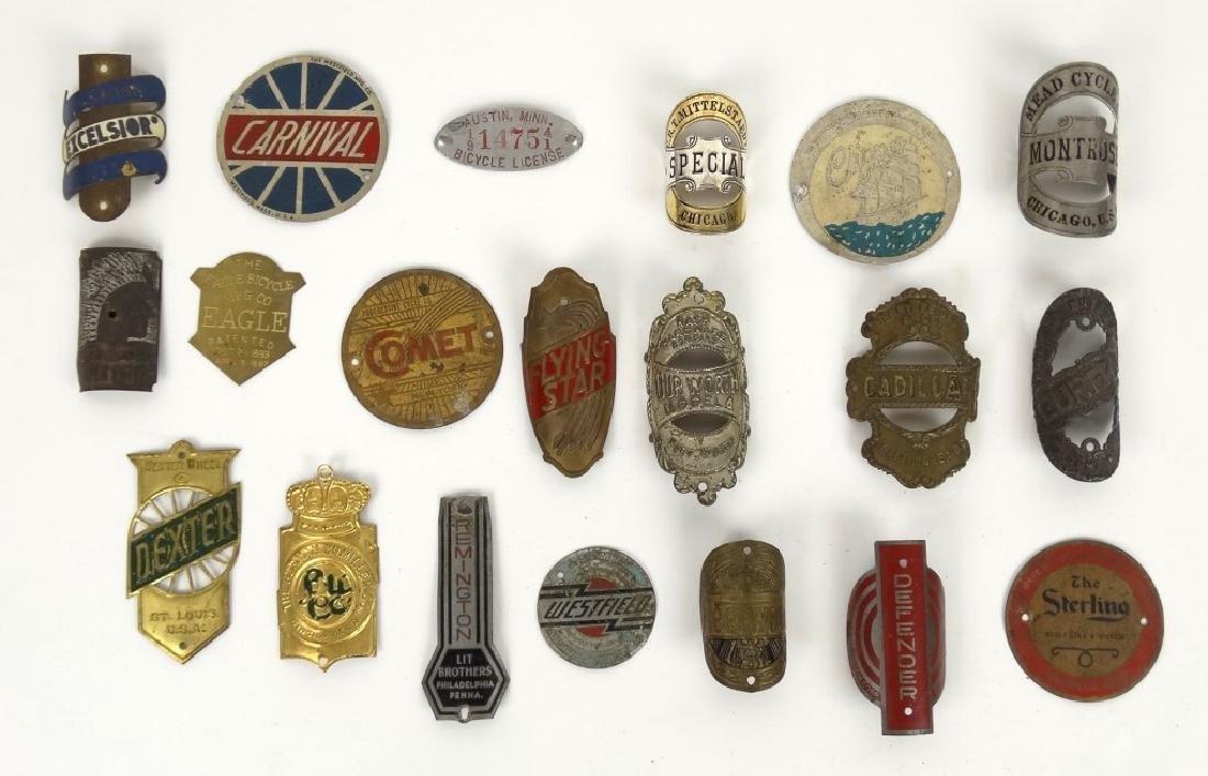 Bicycle Head Badges