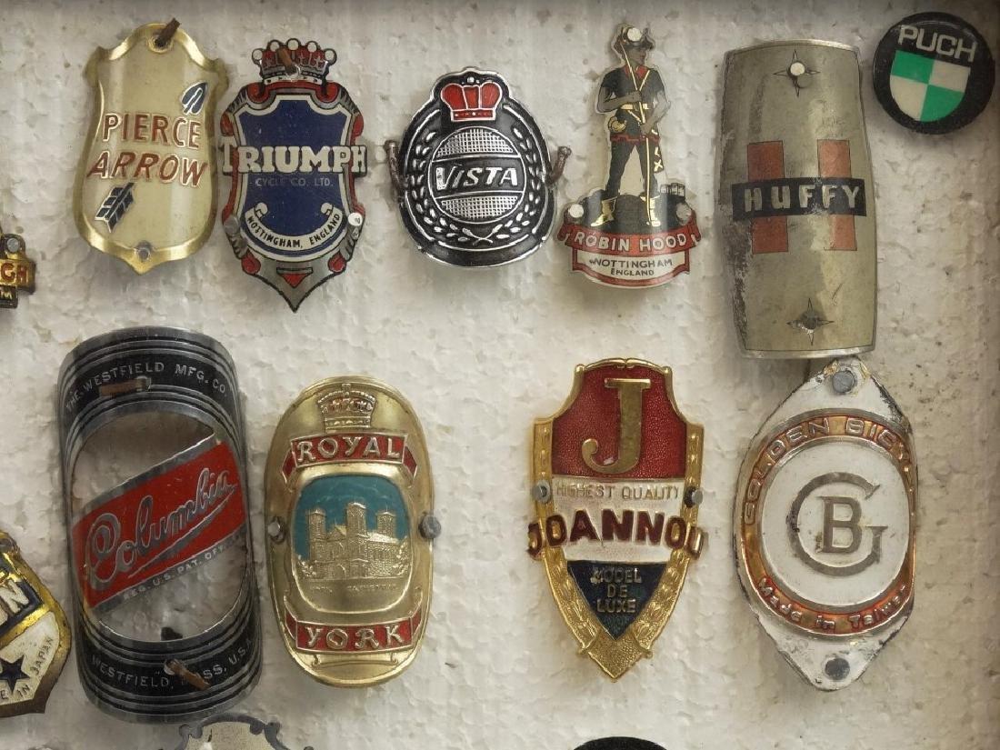 Bicycle Head Badges - 3