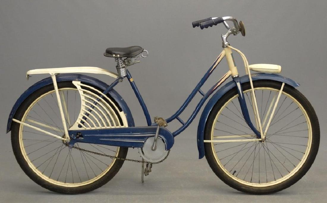 Pre-War Elgin Girl's Balloon Bicycle