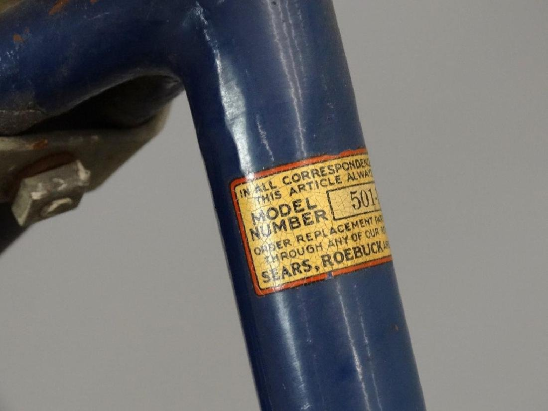 Pre-War Elgin Girl's Balloon Bicycle - 9