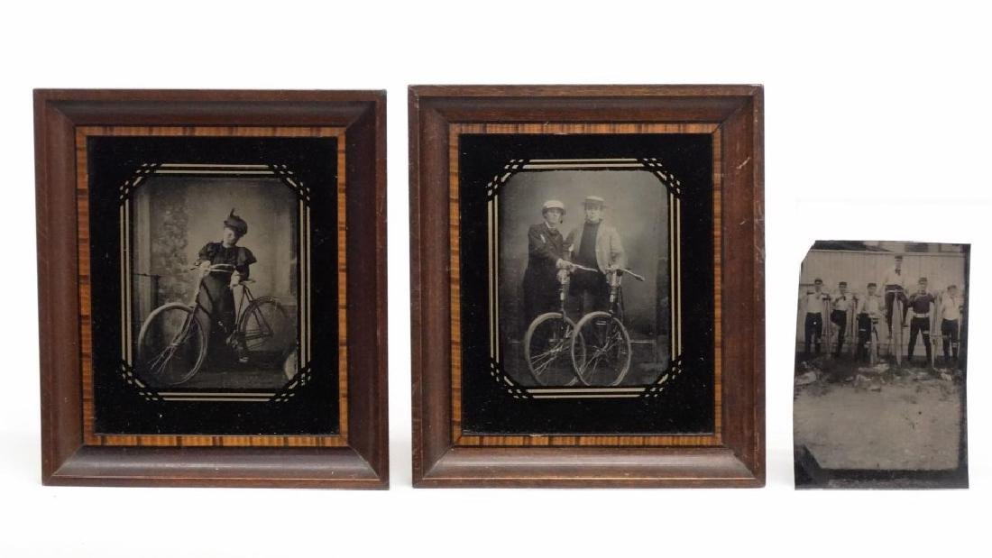 Bicycle Tintypes