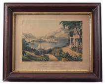 19th c. Currier And Ives Print