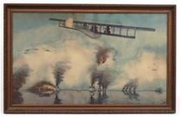 William Prokopf, World War I Watercolor